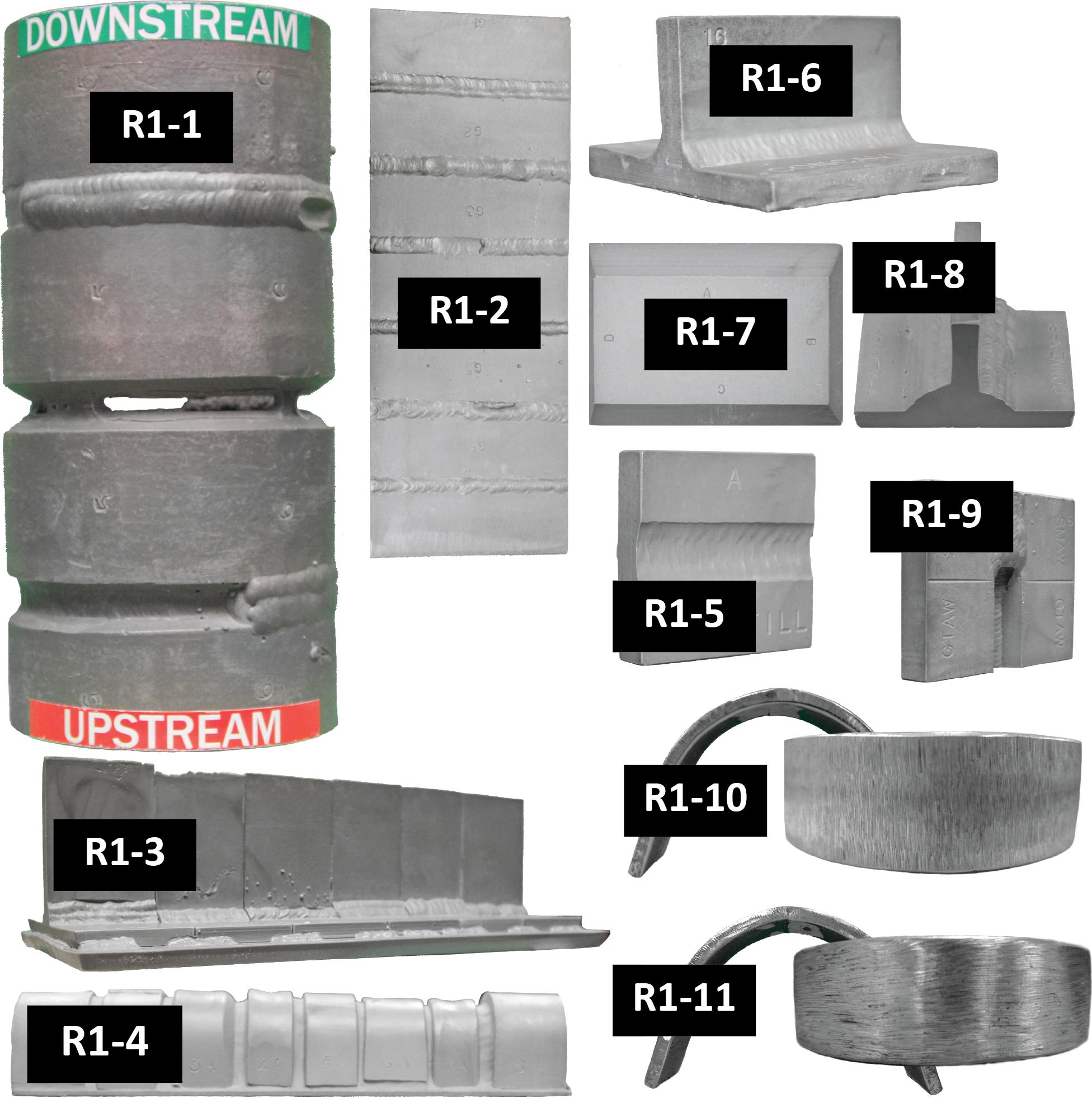 CWI Plastic Replicas Set