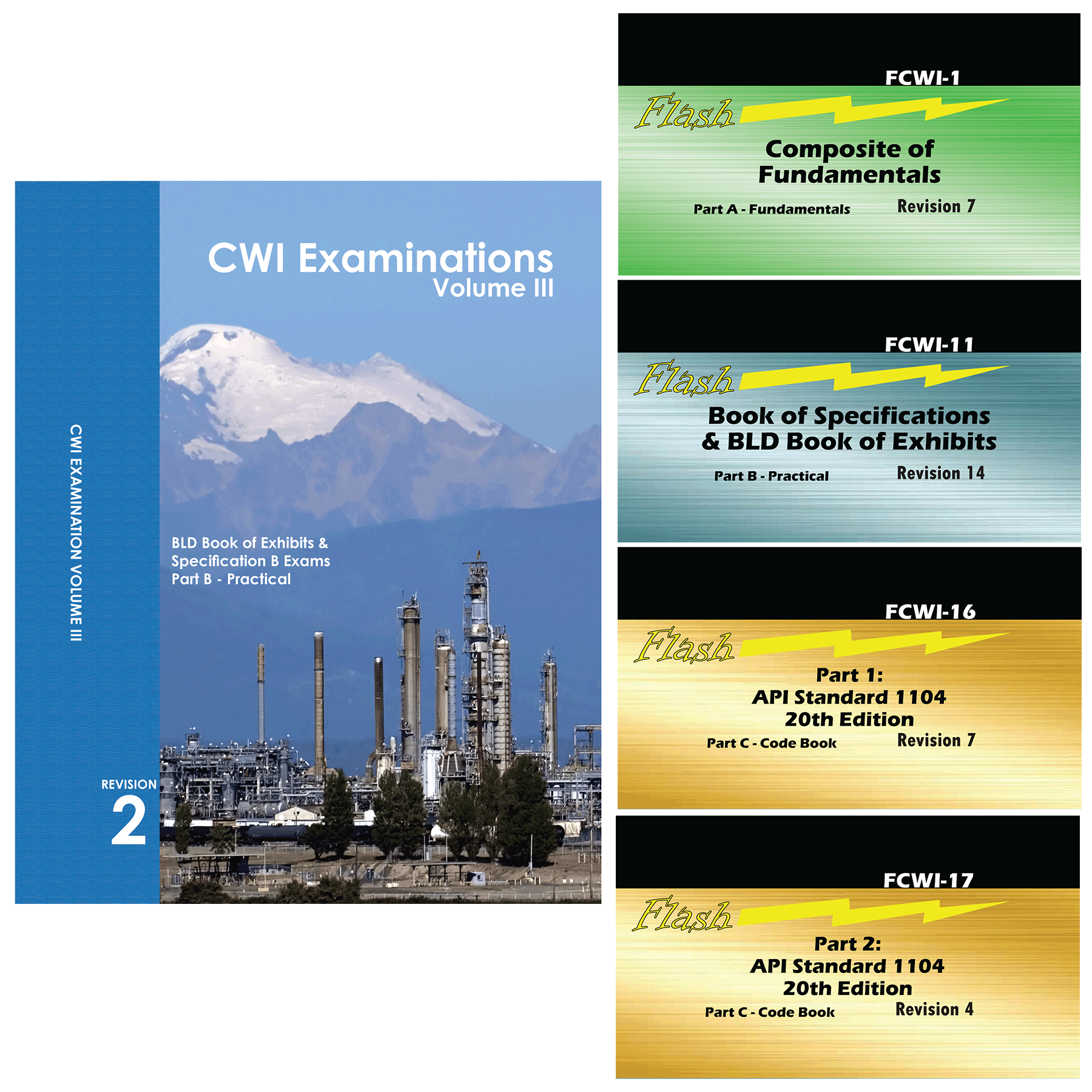 Recommended Cwi Set Flashcard Booklets For Cwi Exam